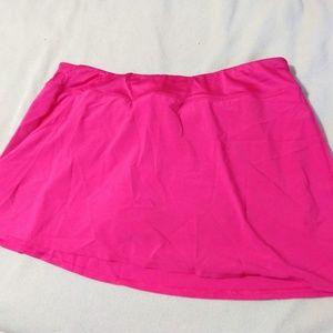 GAP Shorts - GapBody pink running skort - size XL